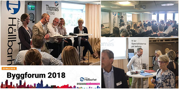 Collage Byggforum 2018
